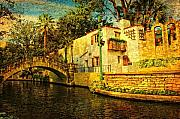 Riverwalk Posters - Nostalgia Poster by Iris Greenwell