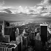Empire State Building Art - NYC Central Park by Nina Papiorek