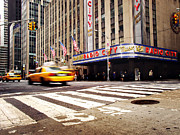 Broadway Framed Prints - NYC Radio City Music Hall Framed Print by Nina Papiorek