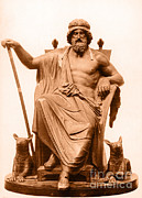 Historic Statue Photo Posters - Odin, Norse God Poster by Photo Researchers