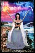 Duality Posters - 2 of Swords Poster by Tammy Wetzel