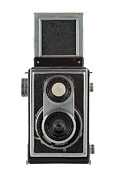 Aperture Metal Prints - Old Camera Metal Print by Michal Boubin
