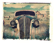 Polaroid Transfer Prints - Old Car Bodie Print by Joe  Palermo