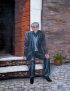 Judy Kirouac - Old Man Waiting
