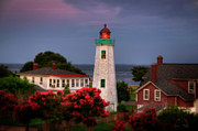 Monroe Photos - Old Point Comfort Lighthouse by Williams-Cairns Photography LLC