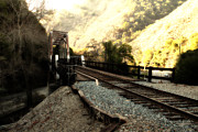 Wingsdomain Art and Photography - Old Railroad Bridge at Near Historic Niles District in California . 7D10756