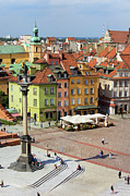 Sights Art - Old Town in Warsaw by Artur Bogacki