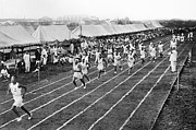 Footrace Photo Prints - Olympic Games, 1912 Print by Granger