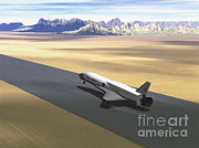 X-plane Prints - Orbital Sciences X-34 Print by Science Source