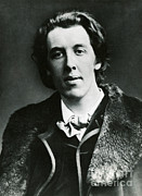 Oscar Wilde Art - Oscar Wilde, Irish Author by Photo Researchers