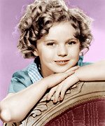 Child Star Posters - Our Little Girl, Shirley Temple, 1935 Poster by Everett