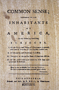 American Independance Photo Metal Prints - Paine: Common Sense, 1776 Metal Print by Granger