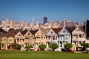 Painted Ladies Framed Prints - Painted Ladies Framed Print by Brian Jannsen