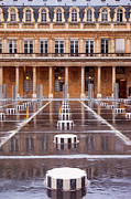 Columns Metal Prints - Palais Royal Metal Print by Brian Jannsen