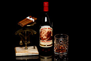 Bottle Pyrography - Pappy Van Winkles by Sinners Andsaintsstudio
