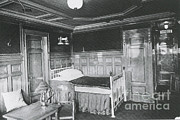 First-class Photo Framed Prints - Parlour Suite Of Titanic Ship Framed Print by Photo Researchers
