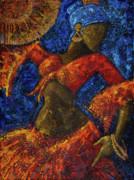 Passion Print by Oscar Ortiz