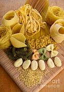 Spaghetti Noodles Photo Posters - Pasta Poster by Photo Researchers, Inc.