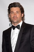 Dempsey Framed Prints - Patrick Dempsey In The Press Room Framed Print by Everett