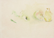 Still Life With Pears Prints - Pears Two Print by Daun Soden-Greene