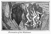 Martyr Metal Prints - Persecution Of Waldenses Metal Print by Granger