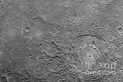 Craters Art - Planet Mercury by Nasa