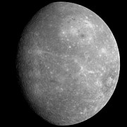 Astrogeology Photos - Planet Mercury by Stocktrek Images