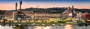 Sewickley . Framed Prints - PNC Park  Framed Print by Emmanuel Panagiotakis