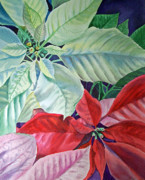 Idea Paintings - Poinsettia by Irina Sztukowski