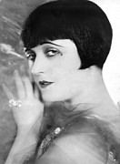 1920s Hairstyles Prints - Pola Negri, Ca. Mid-1920s Print by Everett