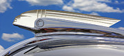 Street Rod Metal Prints - Pontiac Hood Ornament Metal Print by Mike McGlothlen