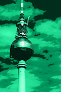 Berlin Mixed Media Prints - Pop Art Berlin Print by Falko Follert