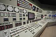 Control Room Photo Posters - Power Station Control Room Poster by Photostock-israel