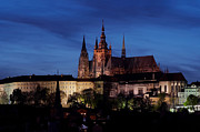 Prague Castle Prints - Prague castle Print by Michal Boubin