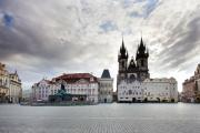 Vltava River Boat Prints - Prague Old Town Square Print by Andre Goncalves