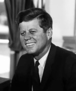 President Posters - President Kennedy Poster by War Is Hell Store