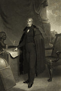 Harrison Photos - President William Henry Harrison by International  Images