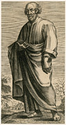 Well Known People Prints - Pythagoras, Greek Mathematician Print by Science Source