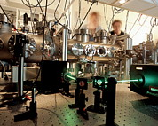 Physics Photos - Quantum Entanglement Equipment by Volker Steger