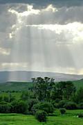 Rain Sun Rays Print by Roderick Bley