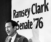 Lawyer Prints - Ramsey Clark (1927- ) Print by Granger