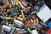 Batteries Prints - Recycling Centre Print by Mark Williamson