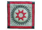 England Tapestries - Textiles - Red Star by Deborah King
