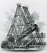 Stargazing Prints - Reflecting Telescope, 1789 Print by Science Source