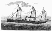 Refrigerated Ship, 1876 Print by Granger