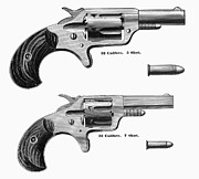1880s Prints - REVOLVERS, 19th CENTURY Print by Granger