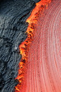 Sami Sarkis Art - River of molten lava by Sami Sarkis