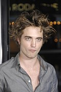 Premiere Metal Prints - Robert Pattinson At Arrivals Metal Print by Everett