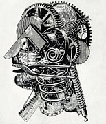Cybernetics Photos - Robot Science-fiction Artwork by Cci Archives