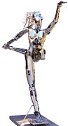 Women Sculpture Originals - Robotica Balletronica by Greg Coffelt